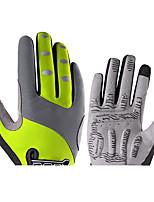 Недорогие -ROCKBROS Полный палец Универсальные Мотоцикл перчатки Нейлоновое волокно Сенсорный экран / Дышащий / Износостойкий