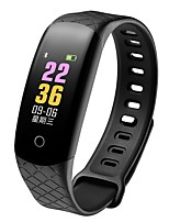 cheap -Smart Bracelet Smartwatch CB608 PRO for Android iOS Bluetooth Waterproof Heart Rate Monitor Blood Pressure Measurement Touch Screen Long Standby Pedometer Call Reminder Sleep Tracker Sedentary / 64MB