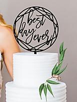 Недорогие -Свадьба / День рождения Акрил Свадебные украшения Классика Все сезоны