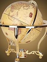 Недорогие -Мировые Глобусы Пластик / Металл Классический Круглые Для дома