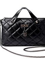 cheap -Women's Bags PU(Polyurethane) Tote Zipper Black