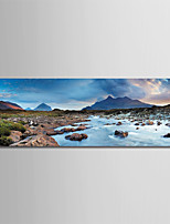 cheap -Print Rolled Canvas Prints - Landscape / Photographic Modern