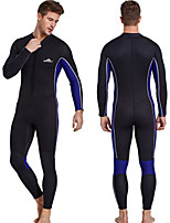 cheap -Unisex Full Wetsuit 3mm SCR Neoprene Diving Suit High Elasticity Long Sleeve Autumn / Fall / Summer