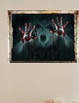 Недорогие -Праздничные украшения Украшения для Хэллоуина Хэллоуин Развлекательный / Декоративные объекты Декоративная / Cool Черный 1шт