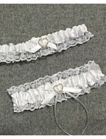 cheap -Lace Wedding / Lace Wedding Garter With Bowknot Garters Wedding / Special Occasion