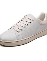 Недорогие -Муж. Комфортная обувь Полиуретан Осень Кеды Черный / Серый / Желтый