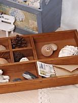 Недорогие -Место хранения организация Косметологический макияж деревянный Прямоугольная форма Многослойный / непокрытый