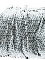 Недорогие -Супер мягкий, Активный краситель Геометрический принт Хлопок / полиэфир одеяла