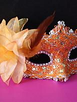 preiswerte -Urlaubsdekoration Halloween-Dekorationen Halloween-Masken Dekorativ / Cool Orange 1pc