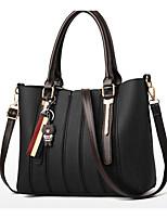 cheap -Women's Bags PU(Polyurethane) Tote Bear / Solid Yellow / Coffee / Khaki