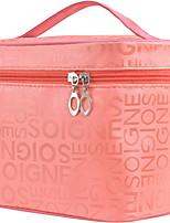 abordables -Espace de rangement Organisation Organisateur de maquillage cosmétique Tissu Carré Portable / Multicouche