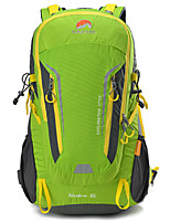 cheap -40 L Hiking Backpack - Rain-Proof, Wearable, Breathability Outdoor Hiking, Camping, Travel Orange, Green, Blue