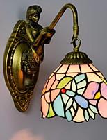 Недорогие -Античный / Винтаж Настенные светильники Гостиная Металл настенный светильник 220-240Вольт 40 W