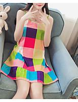 cheap -Women's Suits Nightwear - Print, Plaid