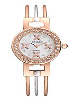 cheap -Women's Wrist Watch Quartz Lovely Alloy Band Analog Casual Silver / Gold / Rose Gold - Rose Gold Gold / White Rose Gold / White