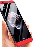 Недорогие -Кейс для Назначение Xiaomi Redmi Note 5 Pro Покрытие Кейс на заднюю панель Однотонный Твердый ПК для Xiaomi Redmi Note 5 Pro / Xiaomi Redmi Примечание 5