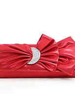 cheap -Women's Bags PU(Polyurethane) Evening Bag Crystals Black / Red / Purple