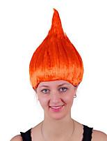 Недорогие -Парики из искусственных волос / Маскарадные парики Прямой Блондинка Стрижка боб Искусственные волосы 14 дюймовый Аниме / Косплей / Женский Красный / Блондинка Парик Жен. Средняя длина