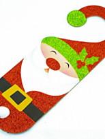 economico -Ornamenti di Natale Vacanza Plastica Quadrato Originale Decorazione natalizia