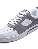 cheap -Men's PU(Polyurethane) Spring Comfort Sneakers Black / Gray / Brown