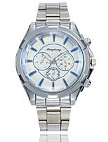 baratos -Homens Relógio Elegante / Relógio de Pulso Chinês Relógio Casual / Mostrador Grande Lega Banda Casual / Fashion Prata