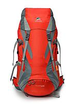 Недорогие -50 L Заплечный рюкзак - Дожденепроницаемый, Пригодно для носки, Воздухопроницаемость На открытом воздухе Пешеходный туризм, Походы, Путешествия Черный, Красный, Синий