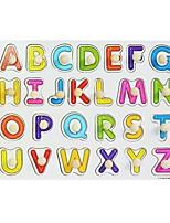 Недорогие -Игрушка для обучения чтению внедорожник Числа Новый дизайн деревянный Все Детские Подарок 1 pcs