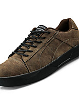cheap -Men's PU(Polyurethane) Fall Comfort Sneakers Black / Gray / Brown