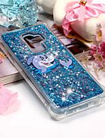 abordables -Coque Pour Samsung Galaxy S9 Plus / S9 Antichoc / Motif Coque Animal Flexible TPU pour S9 / S9 Plus / S8 Plus