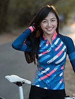 Недорогие -Mysenlan Жен. Длинный рукав Велокофты и лосины Велоспорт Наборы одежды Полиэстер, Спандекс