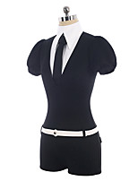 cheap -Inspired by Land of the Lustrous Antarcticite Anime Cosplay Costumes Cosplay Suits Simple Corsets / Tie / Costume For Unisex Halloween Costumes