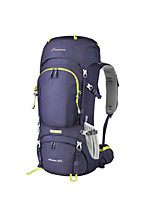 cheap -60+10 L Rucksack - Rain-Proof, Breathability, Stretchy Outdoor Hiking, Camping, Snowboarding 100g / m2 Polyester Knit Stretch Green, Blue, Violet