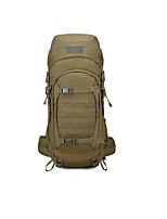 Недорогие -50 L Заплечный рюкзак - Пригодно для носки На открытом воздухе Пешеходный туризм 100 г / м2 полиэфирный стреч-трикотаж Черный, Военно-зеленный, Хаки