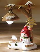 Недорогие -Рождественские украшения Праздник / Мультяшная тематика пластик Квадратный Оригинальные Рождественские украшения