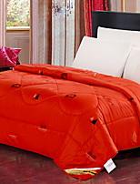 Недорогие -удобный - 1 одеяло Зима Перо Однотонный