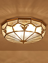 Недорогие -3-Light Оригинальные Монтаж заподлицо Рассеянное освещение - Новый дизайн, 110-120Вольт / 220-240Вольт, Теплый белый, Лампочки не включены