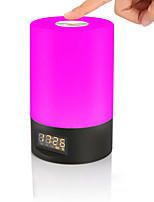 economico -JIAWEN 1pc Allarme sveglia Smart Night Light Colorato USB Smart / Oscurabile / Colore Graduale e Sfumato 5 V