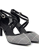 Недорогие -Жен. Комфортная обувь Полиуретан Весна Обувь на каблуках На шпильке Желтый / Красный / Зеленый