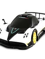 Недорогие -Машинка на радиоуправлении 38010 1 канал 2.4G Автомобиль 1:24 Бесколлекторный электромотор 10 km/h КМ / Ч Молодежный