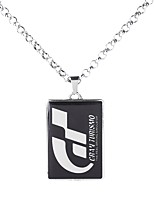 cheap -Men's Stylish / Sculpture Pendant Necklace - Rustic / Lodge, Simple, Victorian Cool Silver 62 cm Necklace Jewelry 1pc For Date, Street