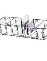abordables -Espace de rangement Organisation Organisateur de maquillage cosmétique Acrylique Forme de rectangle Multicouche / Découvert