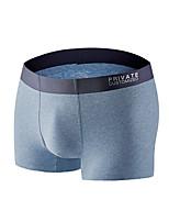 cheap -Men's Briefs Underwear Solid Colored High Waist