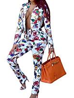cheap -Women's Basic Set - Floral Pant