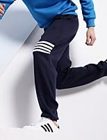 economico -Unisex Tasche / A cordoncino / Beam Foot 1 pezzo Pantaloni da jogger / Pantaloni da corsa - Nero, Grigio, Blu marino scuro Gli sport Strisce Pantaloni della tuta / Pantaloni Corsa, Fitness, Palestra