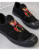 cheap -Men's Comfort Shoes Elastic Fabric Spring & Summer Casual Loafers & Slip-Ons Black / Gold / Black / Silver / Black / Red