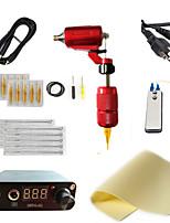 baratos -Máquina de tatuagem Kit de tatuagem profissional - 1 pcs máquinas de tatuagem, Profissional / Conjuntos / Criativo Liga de Alúminio 1xMáquina Tatuagem rotativa para linhas e sombras