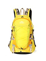 cheap -40 L Rucksack - Wearable Outdoor Hiking Nylon Yellow