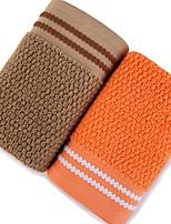abordables -Qualité supérieure Serviette, Géométrique 100% Coton Salle de  Bain 2 pcs
