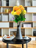 Недорогие -Искусственные Цветы 1 Филиал Классический Простой стиль / Modern Гвоздика Букеты на стол