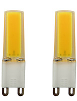 cheap -2pcs 3 W 150-200 lm G9 LED Bi-pin Lights 1 LED Beads COB Decorative Warm White / Cold White 220-240 V